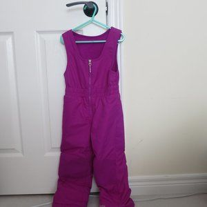 Girls Purple Columbia Snow pants